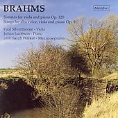 Brahms: Sonatas for Viola and Piano Op 120, etc