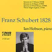 Schubert: Piano Sonatas, Impromptus / Ian Hobson