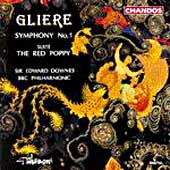Gliere: Symphony no 1, etc / Downes, BBc Philharmonic