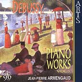 Debussy: Piano Works Vol 3 / Jean-Pierre Armengaud