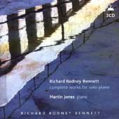 Richard Rodney Bennett: Solo Piano Music / Jones