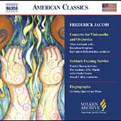 American Classics - F. Jacobi: Cello Concerto, etc
