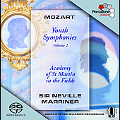 Mozart: Youth Symphonies Vol 2 / Sir Neville Marriner, ASMF