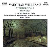Vaughan Williams: Symphony no 4, etc / Daniel, et al