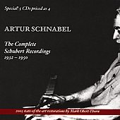 Complete Schubert Recordings / Artur Schnabel