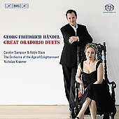 Handel: Great Oratorio Duets / Sampson, Blaze, Kraemer