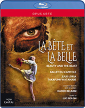 The Beauty and the Beast - music by Haydn, Ligeti, Ravel & Daquin / Takafumi Watanabe, Julie Loria, Kazbek Akhmedyarov. Ballet du Capitole [Blu-ray]