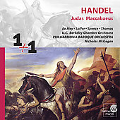 1+1  Handel: Judas Maccabaeus / McGegan, de Mey, et al