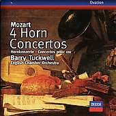 Mozart: Horn Concertos Nos. 1 - 4, Concert Rondo