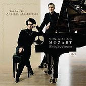 Mozart: Sonatas for Keyboard Duet Vol 1 / Tal, Groethuysen