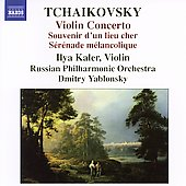 Tchaikovsky: Violin Concerto, etc / Kaler, Russian PO