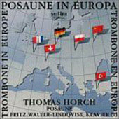 Trombone in Europe - Hindemith, et al