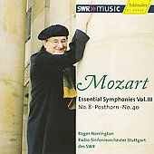 Mozart: Essential Symphonies Vol 3 / Norrington, et al