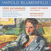 Harold Blumenfled: Vers Satanique after Baudelaire, etc / Blumenfeld, Philips, Albert, et al