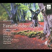 Handel: Faramondo / Fasolis, Cencic, Jaroussky, Sabata, Wey, et al