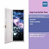 Brunner: Songs from another place;  Lang, Herbolsheimer / Harte, Willson, et al
