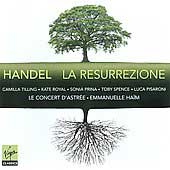 Handel: La Resurrezione / Emmanuelle Ha&iuml;m, et al