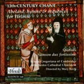 Abelard: 12th Century Chant