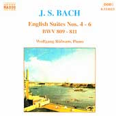 Bach: English Suites no 4-6 / Wolfgang Rübsam