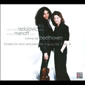 Beethoven: Sonatas for Violon and Piano No. 5 Spring, No. 7, No. 8