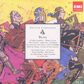 British Composers: Arthur Bliss / Colour Symphony, Checkmate, Cello Concerto, et al.