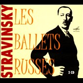Stravinsky: Les Ballets Russes - The Firebird; Petrushka; The Rite of Spring / Kitayenko, Boulez, Fedoseyev