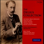 The Delius Collection / Anthony Rolfe Johnson, Felicity Lott, Sarah Walker, Thomas Allen, Julian Loyd Webber [7 CDs]
