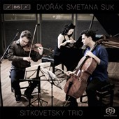 Dvorak: Piano Trio No. 3; Smetana: Piano Trio Op. 15; Suk: Elegy for Piano Trio, Op. 23 / Sitkovetsky Trio