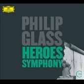 Philip Glass: 'Heroes' Symphony, Violin Concerto / Gidon Kremer, violin; Vienna Philharmonic;  von Dohnányi; American Composers Orchestra; Davies