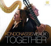 Together: Works for Harp & Guitar, by Pujol, Montsalvatge, Schocker, Hovhaness & Fitch / Yolanda Kondonassis, harp; Jason Vieaux, guitar