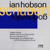 Schubert/Godowsky: Twelve Songs, etc / Ian Hobson