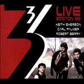 Three (Emerson, Berry & Palmer)/Keith Emerson (Composer/Keyboards)/Robert Berry/Carl Palmer: Live in Boston, 1988 [Slipcase]