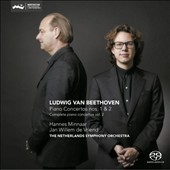Beethoven: Piano Concertos Nos. 1 & 2 / Hannes Minnaar, piano; Netherlands SO, Jan Willem de Vriend