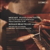 Mozart: Piano Concertos No. 5, K.175 & No. 6, K.238; Three Concertos after J.C. Bach, K 107 / Ronald Brautigam, fortepiano