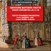 Viotti: Violin Concertos Vol 1 / Franco Mezzena, Viotti CO