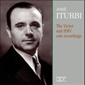 Pianist José Iturbi - his complete solo repertoire on RCA Vctor and HMV (rec. 1933-52): Works by Scarlatti, Bach, Paradies, Mozart, Beethoven, Schumann, Liszt, Chopin, Tchaikovsky, Rachmaninov, Albeniz et al. [3 CDs]