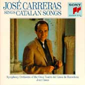 Jos&eacute; Carreras sings Catalan Songs