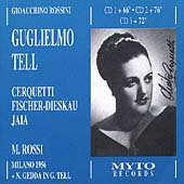 Rossini: Guglielmo Tell / Rossi, Cerquetti, Fischer-Dieskau
