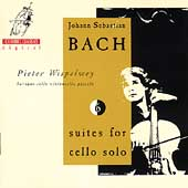Bach: Cello Suites / Pieter Wispelwey