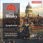 The Contemporaries of Mozart - Wesley: Symphonies