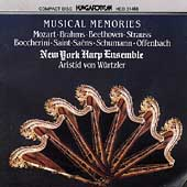 Musical Memories- Mozart, Brahms, etc / NY Harp Ensemble