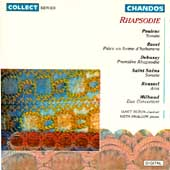 Rhapsodie - French Music for Clarinet & Piano / Janet Hilton