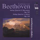 Beethoven: String Quartets Op 127 & 132 / Leipzig Quartet