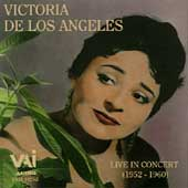 Victoria De Los Angeles - Live In Concert