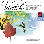 Vivaldi: The Four Seasons, etc / Warren-Green, et al