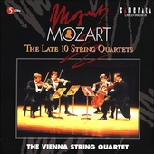 Mozart: The Late 10 String Quartets / Vienna String Quartet