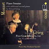 Mozart: Piano Sonatas;  Grieg: Peer Gynt Suites