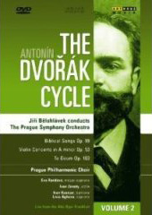 The Dvorak Cycle / Belohlavek/Prague SO & Chorus / Violin Concerto, Te Deum; Biblical Songs [DVD]