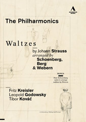Waltzes by Johann Strauss arranged by Schoenberg, Berg & Webern / The Philharmonics [DVD]