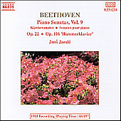 Beethoven: Piano Sonatas Vol. 9
